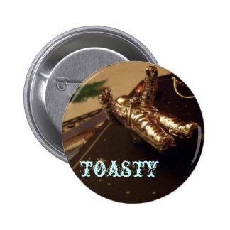Astronauta Toasty Pin