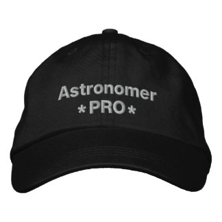 Astrónomo favorable gorras bordadas