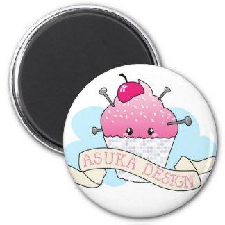 Asuka Design Cupcake Imán
