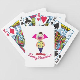 Asuntos divertidos cartas de juego