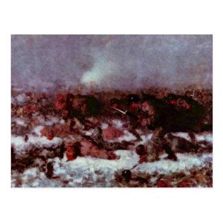 Ataque contra Smardan (estudio) por Grigorescu Nic Tarjetas Postales