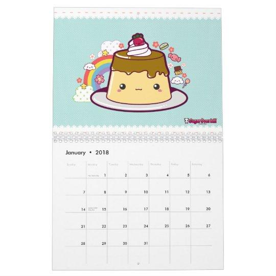 Anime 2019 Febrero: ¡Ataque De La Comida De Kawaii! Calendario 2011