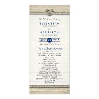 Atar el programa rústico del boda de playa del lonas publicitarias