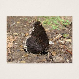 ATC del ~ de la mariposa de capa de luto Tarjeta De Negocios