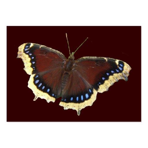 ATC del ~ de la mariposa de capa de luto Tarjetas De Negocios