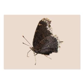 ATC del de la mariposa de capa de luto Tarjetas De Visita