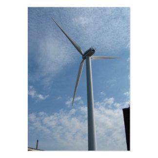 ATC del ~ del poder de la turbina Plantilla De Tarjeta De Negocio