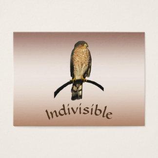 ATC indivisible del halcón de Brown Tarjeta De Negocios