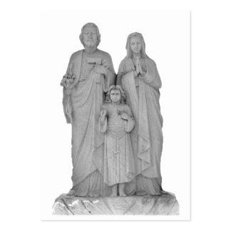 ATC santo del ~ de la familia Tarjetas De Negocios
