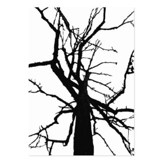 ATC superior del extracto del árbol Plantilla De Tarjeta Personal