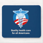 Atención sanitaria de la calidad para todos los am alfombrillas de ratón