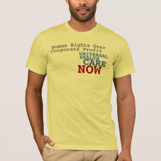 Atención sanitaria universal ahora camiseta