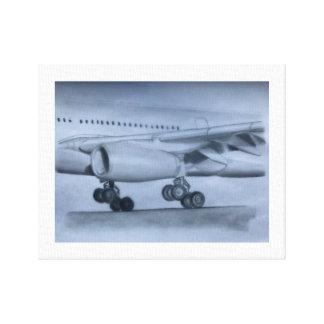 Aterrizaje de A330 Airbus Impresión En Lienzo