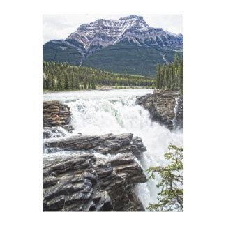 Athabasca baja jaspe, foto de Alberta Canadá Impresion En Lona