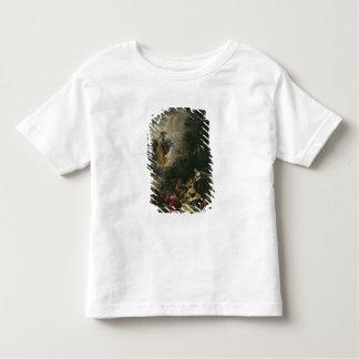 Athena que visita las musas camiseta de bebé
