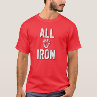 athletic all iron camiseta
