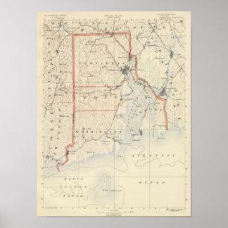 Atlas 2 de Rhode Island Impresiones