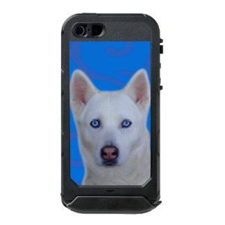ATLAS blanco ID™ del iPhone SE/5/5s del husky Carcasa De Iphone 5 Incipio Atlas Id