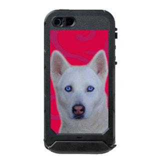 ATLAS blanco ID™ del iPhone SE/5/5s del husky Funda Para iPhone 5 Incipio ATLAS ID