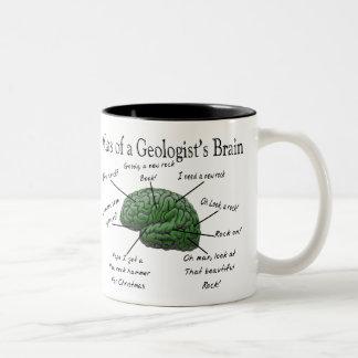 Atlas de los regalos divertidos del cerebro de un  taza de café