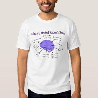 Atlas del cerebro II del estudiante de medicina Camisas