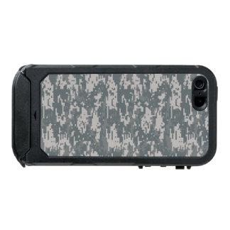 ATLAS ID™, Digitaces negras Camo del iPhone 5/5s Carcasa De Iphone 5 Incipio Atlas Id