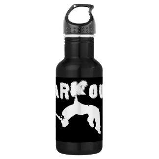Atleta de Parkour Botella De Agua
