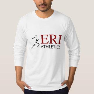 Atletismo de ERI - manga larga gris Camiseta