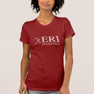 Atletismo de ERI - mujeres cortas de la manga del Camisetas