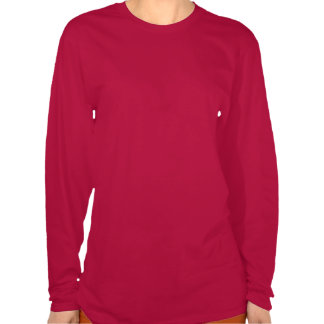 Atletismo de ERI - mujeres largas rojas de la Camisetas