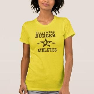 Atletismo de la estrella de la hamburguesa de Holl Camisetas