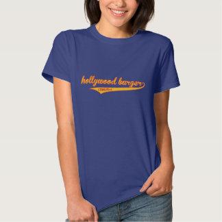 Atletismo de la hamburguesa de Hollywood Camisetas