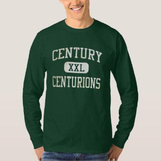 Atletismo de los centuriones del siglo camisetas