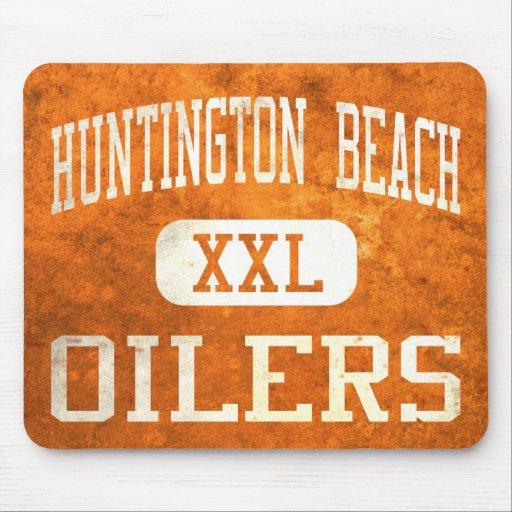 Atletismo de los engrasadores de Huntington Beach Tapete De Ratón