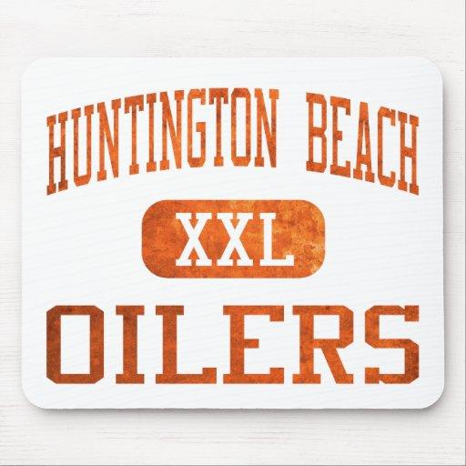 Atletismo de los engrasadores de Huntington Beach Tapetes De Raton