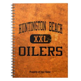 Atletismo de los engrasadores de Huntington Beach Libro De Apuntes Con Espiral