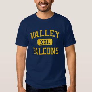 Atletismo de los Falcons del valle (Santa Ana) Camisetas