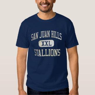 Atletismo de los sementales de las colinas de San Camiseta