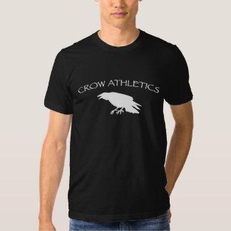 Atletismo del cuervo camiseta
