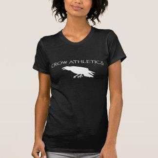 Atletismo del cuervo camisetas