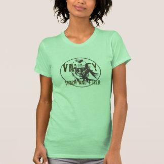 Atletismo del picovoltio camisetas