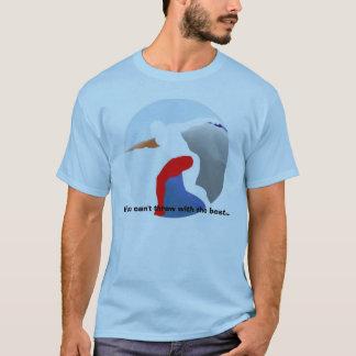Atletismo - tiro con el mejor camiseta