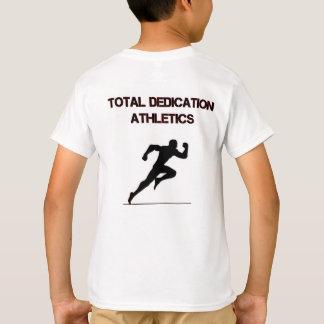 Atletismo total del esmero camiseta
