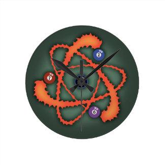 Átomo II de la piscina Reloj Redondo Mediano