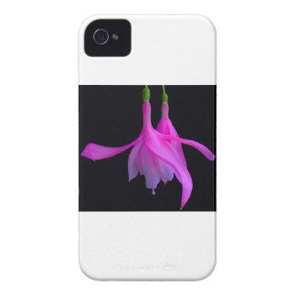 Atontamiento en diseño floral rosado carcasa para iPhone 4