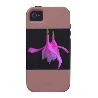 Atontamiento en diseño floral rosado iPhone 4 carcasas