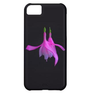 Atontamiento en diseño floral rosado funda iPhone 5C