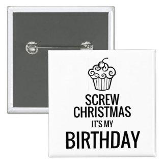 Atornille el navidad, él es mi botón del