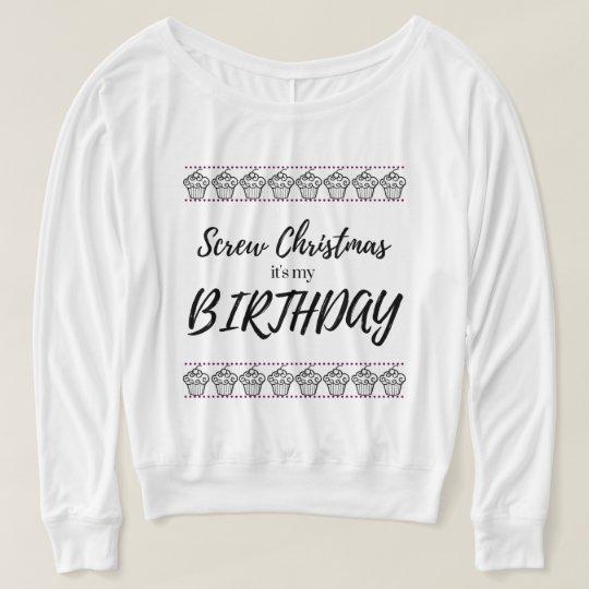 Atornille el navidad, él es mi suéter del