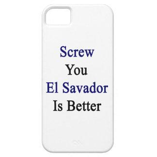 Atorníllele que El Salvador es mejor iPhone 5 Protector